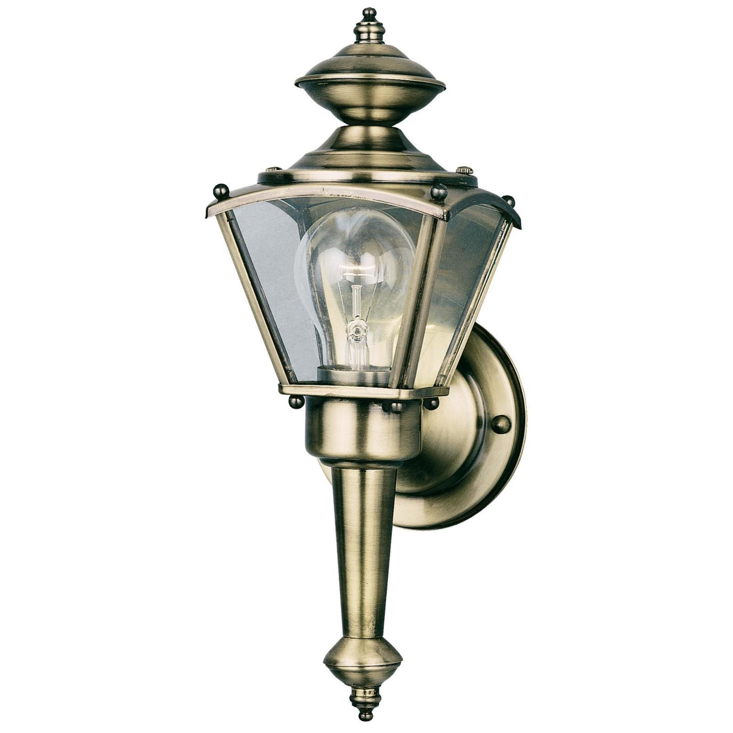 Westinghouse  Antique Brass  LED  Wall Lantern