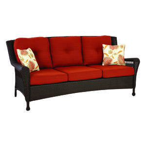 Living Accents  1 pc. Astoria  Orange  Sofa