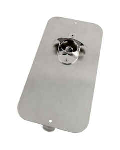 Pop N CatchTM  Brushed Nickel  Silver  Stainless Steel  Manual  Magnetic Bottle Opener  The Magnet S