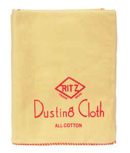 Ritz  Cotton  Dusting Cloth  20 in. W x 14 in. L 1 pk
