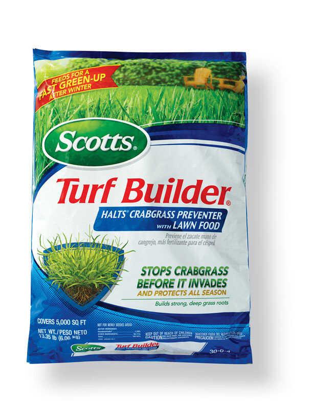 Scotts Turf Builder 30 0 4 Crabgrass Preventer With