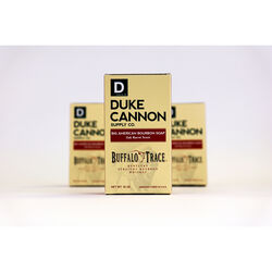 Duke Cannon Buffalo Trace Bourbon Oak Barrel Scent Bar Soap 10