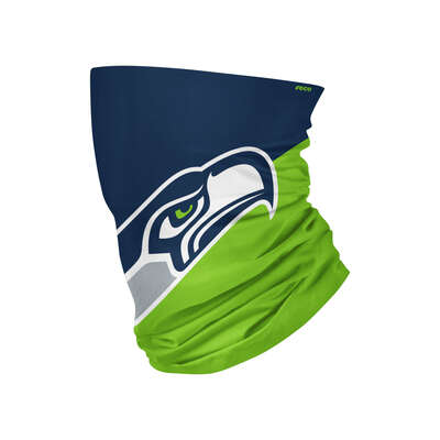 Foco Seattle Seahawks Gaiter Scarf Face Mask 1 pk