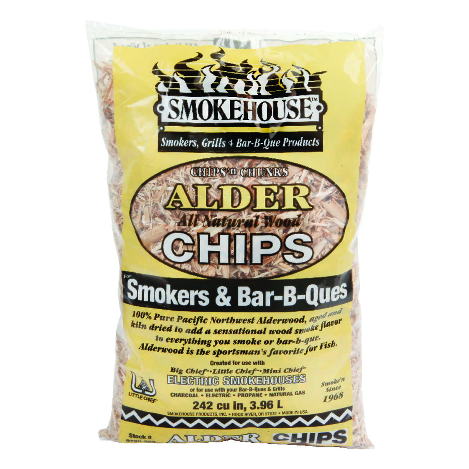 Smokehouse  Alder  Wood Smoking Chips  242