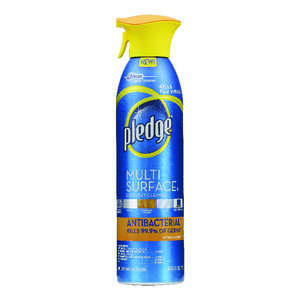 Pledge  Citrus Scent Multi-Surface Cleaner, Protector and Deodorizer  9.7 oz. Liquid  For Metal, Sea
