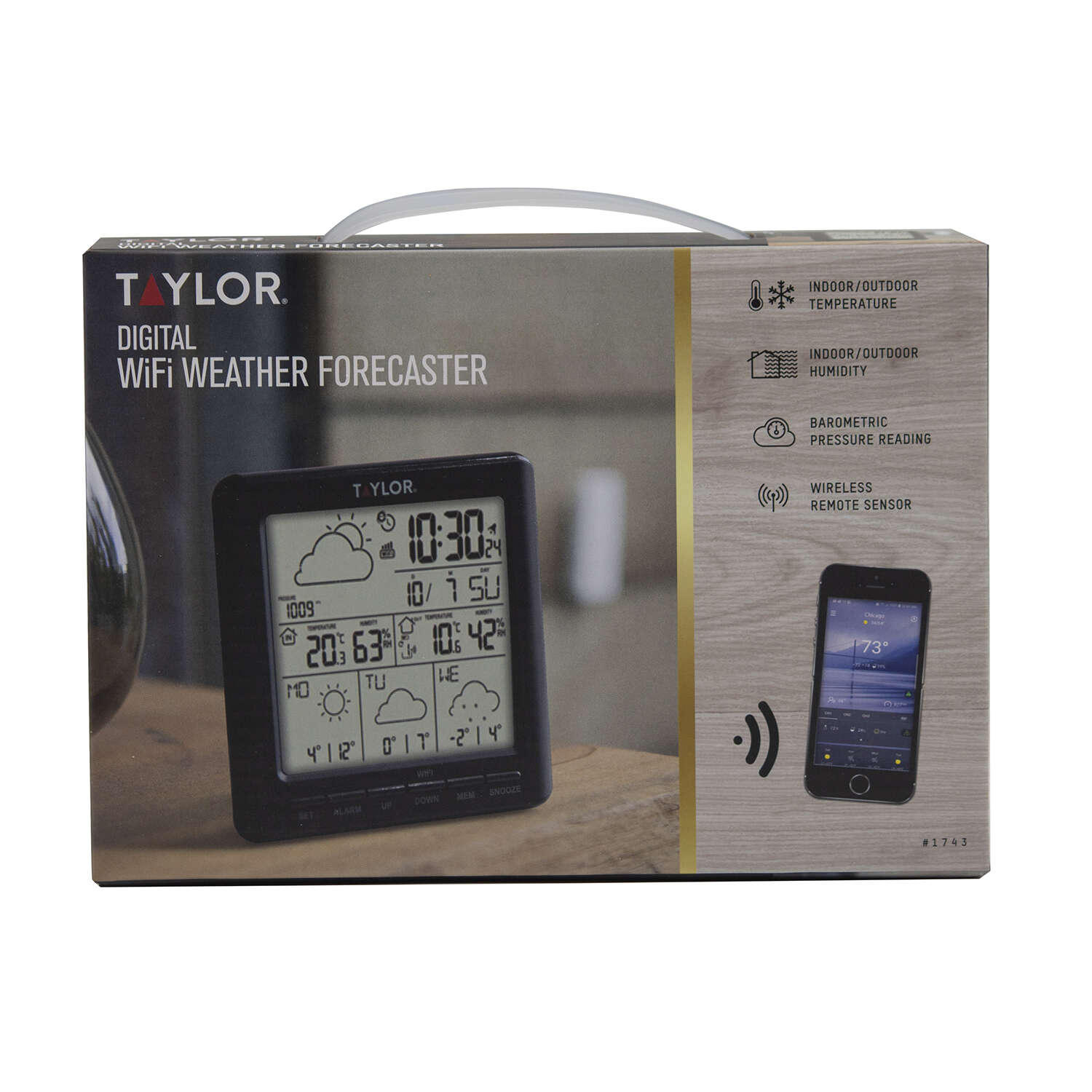 Taylor  WiFi Weather Forecaster