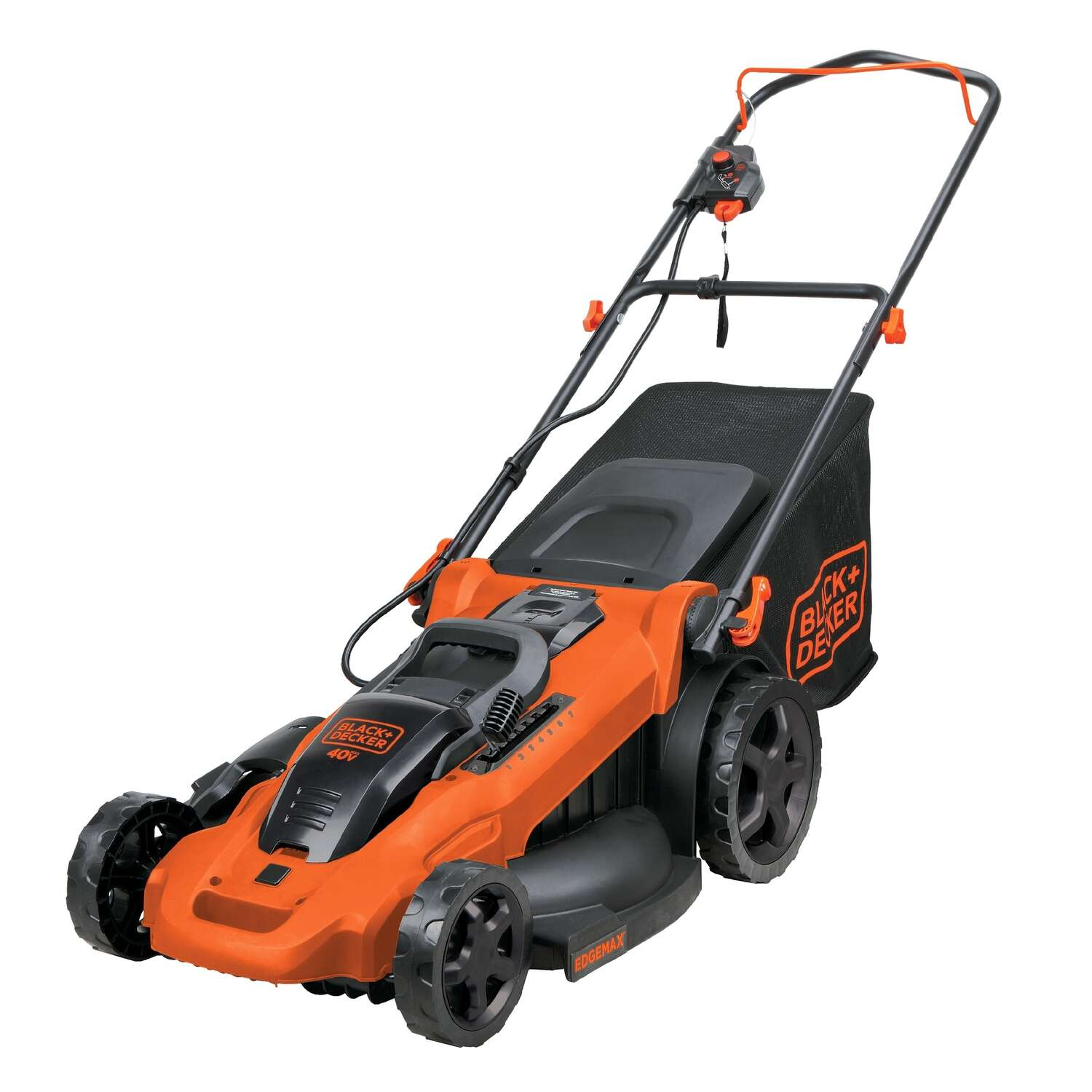 Black and Decker  40  Battery  Push Mower  Kit (Battery & Charger)