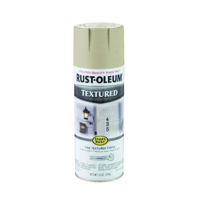 Rust Oleum Stops Rust Textured Sandstone Spray Paint 12 Oz