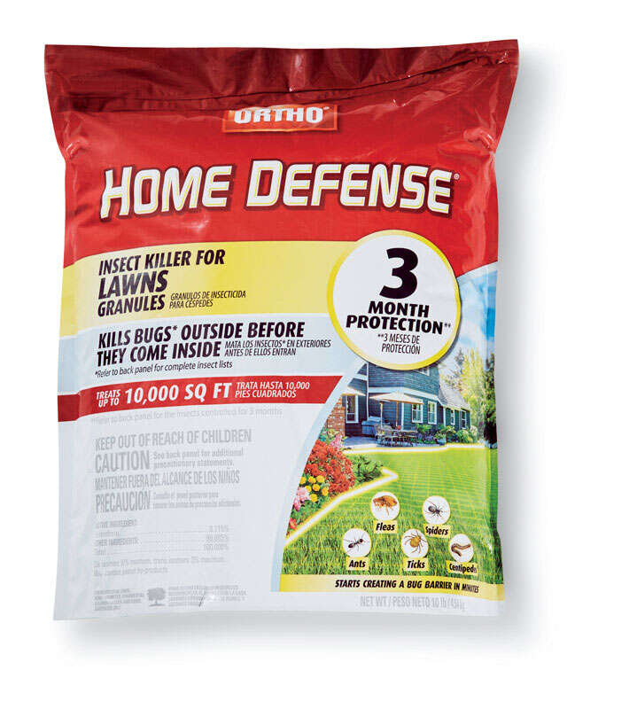 Ortho  Home Defense for Lawns  Insect Killer  10 lb.