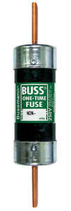 Bussmann  200 amps 250 volts Melamine  One-Time Fuse  1 pk