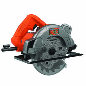 Black and Decker  7-1/4 in. Corded  13 amps Circular Saw with Laser  Bare Tool  3000 rpm