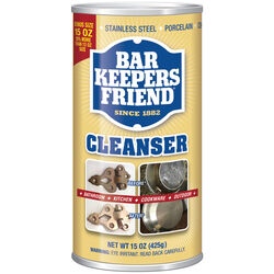 Bar Keepers Friend No Scent Stainless Steel Cleaner & Polish 15 oz. Powder