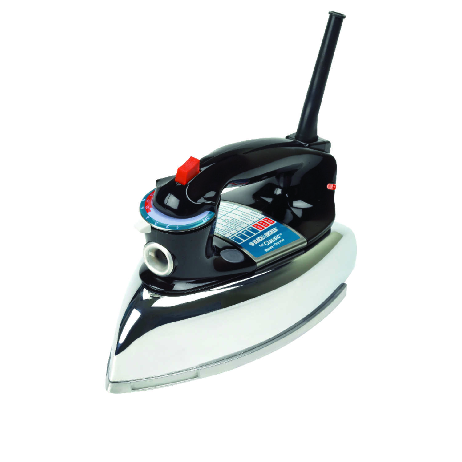Black and Decker  The Classic  Steam Iron