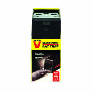 Victor  Medium  Electronic  Animal Trap  For Rats 1 pk