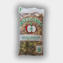 Chigger Creek  Sweet 'N Smoky  All Natural Ozark Apple  Wood Smoking Chips  200 cu. in.