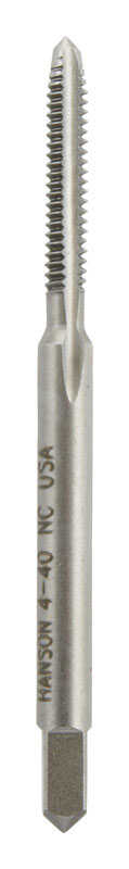 Irwin  Hanson  High Carbon Steel  SAE  Plug Tap  4-40NS  1 pc.