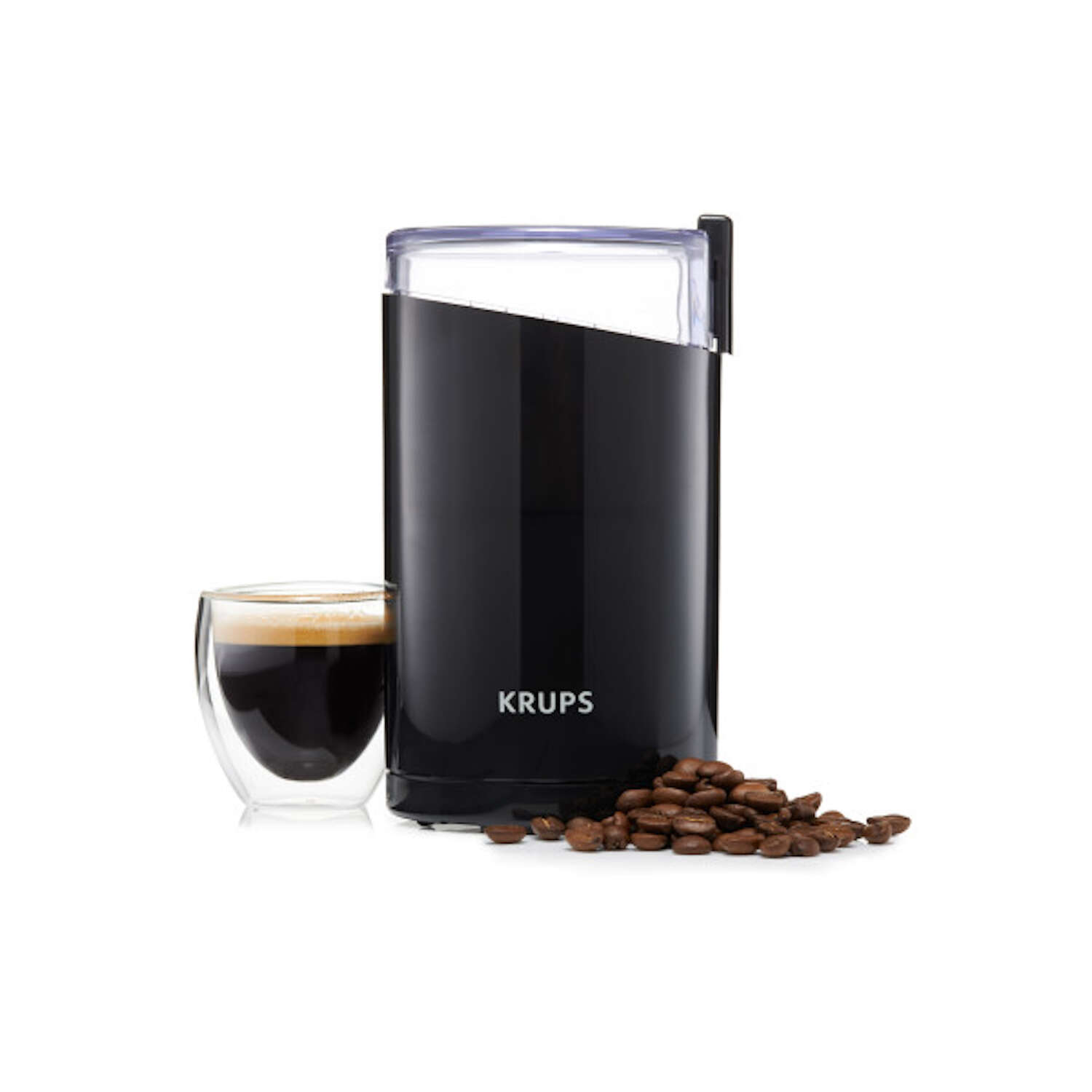 Krups  Black  Stainless Steel  3  Coffee Grinder