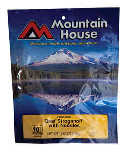 Mountain House  Beef Strganoff with Noodles  Freeze Dried Food  4.8 oz. Pouch