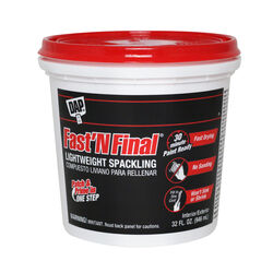 DAP Fast 'N Final Ready to Use White Lightweight Spackling Compound 32 oz.