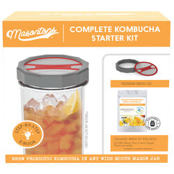 Masontops  Wide Mouth  Kombucha Brewing Lid  5 pk