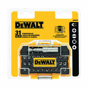 DeWalt  Impact Ready  31 pc. Screwdriver Set  2 in.