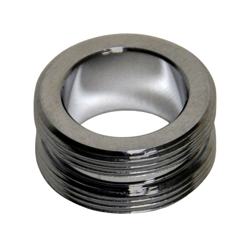 Danco  Chrome  55/64-27 in.  Male/Male Aerator Adapter  1 pack