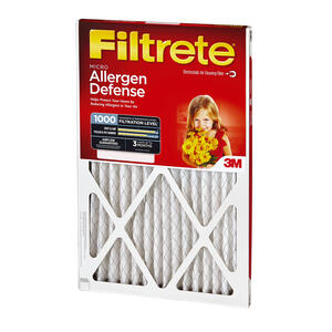 3M  Filtrete  14 in. W x 20 in. H x 1 in. D 11 MERV Pleated Air Filter