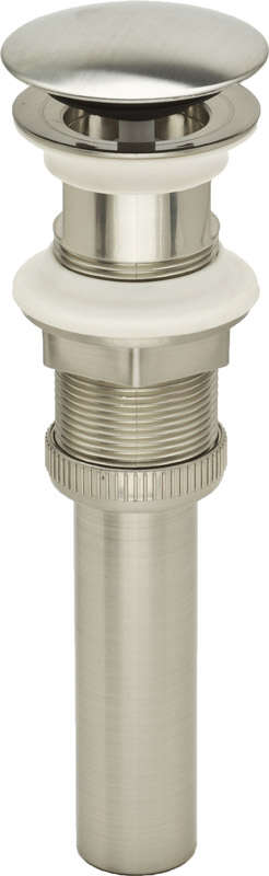 PF WaterWorks  DecoDrain  1.25 in. Dia. Plastic  Push Pop-Up Drain