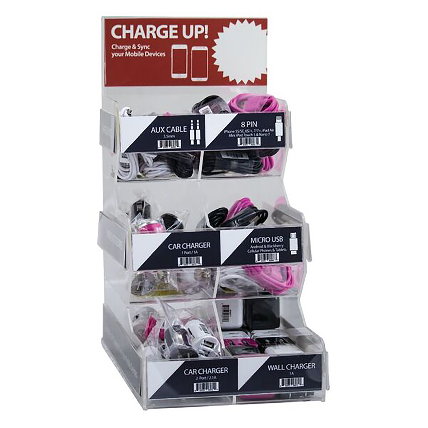 Fonegear  Cell Phone Charger  1 pk