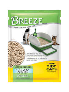 Breeze  Fresh and Clean Scent Cat Litter  5.5 oz.