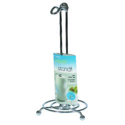 InterDesign  Metal  Freestanding  Paper Towel Holder  13.7 in. H x 6.5 in. W x 6.5 in. L