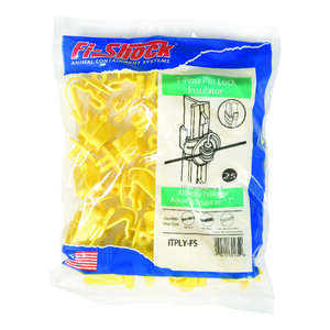 Fi-Shock  T-Post Pin-Lock Insulator  Yellow