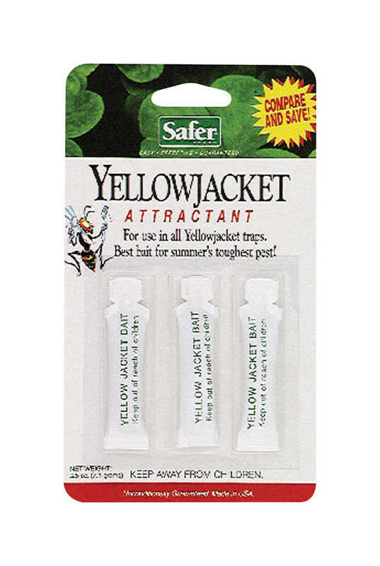Safer Brand  Yellow Jacket Attractant  3 pk