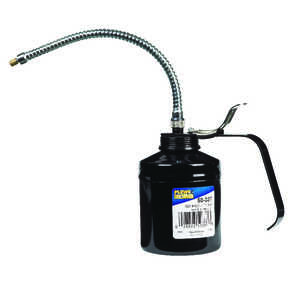 Plews Flex Spout Oiler 1 pt. 9 in. Black Metal