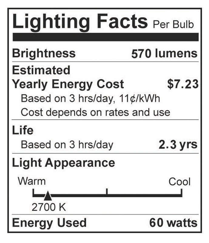 Westinghouse  60 watts A15  Incandescent Bulb  570 lumens White  A-Line  2 pk