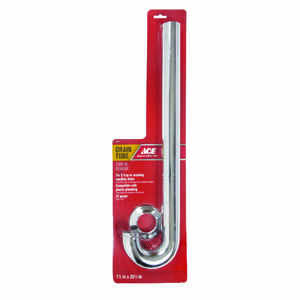 Ace  1-1/2 in. Dia. x 20-1/2 in. L Brass  Drain Tube