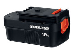 Black and Decker  18 volt 1.5 Ah Ni-Cad  Battery Pack  1 pc.