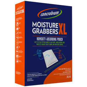 Concrobium  Moisture Grabbers XL  35.3 oz. No Scent Humidity-Absorbing Pouch