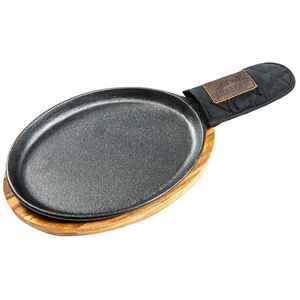 Traeger  Fajita Pan  Cast Iron  Medium