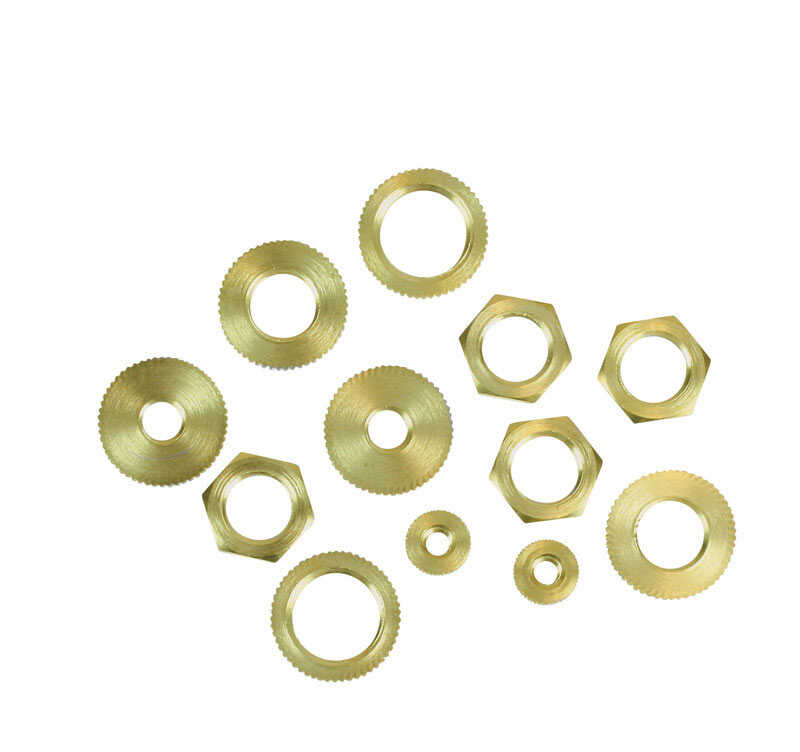 Jandorf  Assorted  Hex Nuts