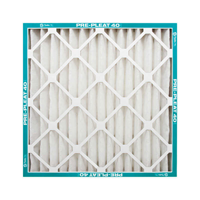 AAF Flanders  20 in. H x 16 in. W x 1 in. D Polyester Synthetic  Pre-Pleat Filter