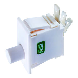 Jandorf  16 amps Momentary  Appliance Switch  White  1 pk