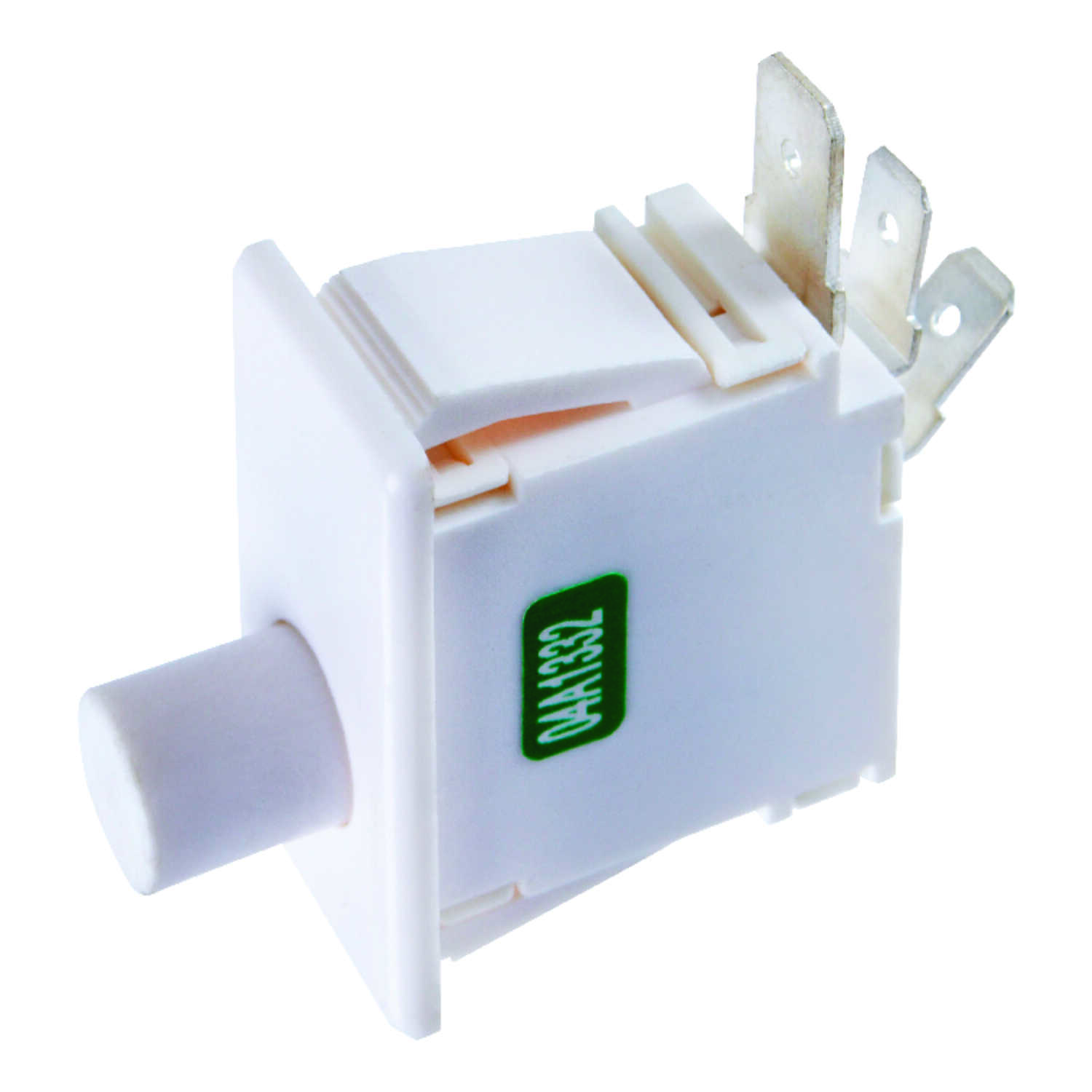 Jandorf  16 amps Appliance Switch  White  1  Momentary