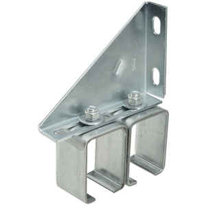 Stanley  Steel  Double Box Rail Brackets  300