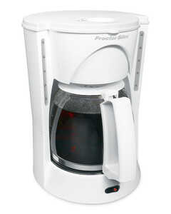 Proctor Silex  White  White  12 cups Coffee Maker