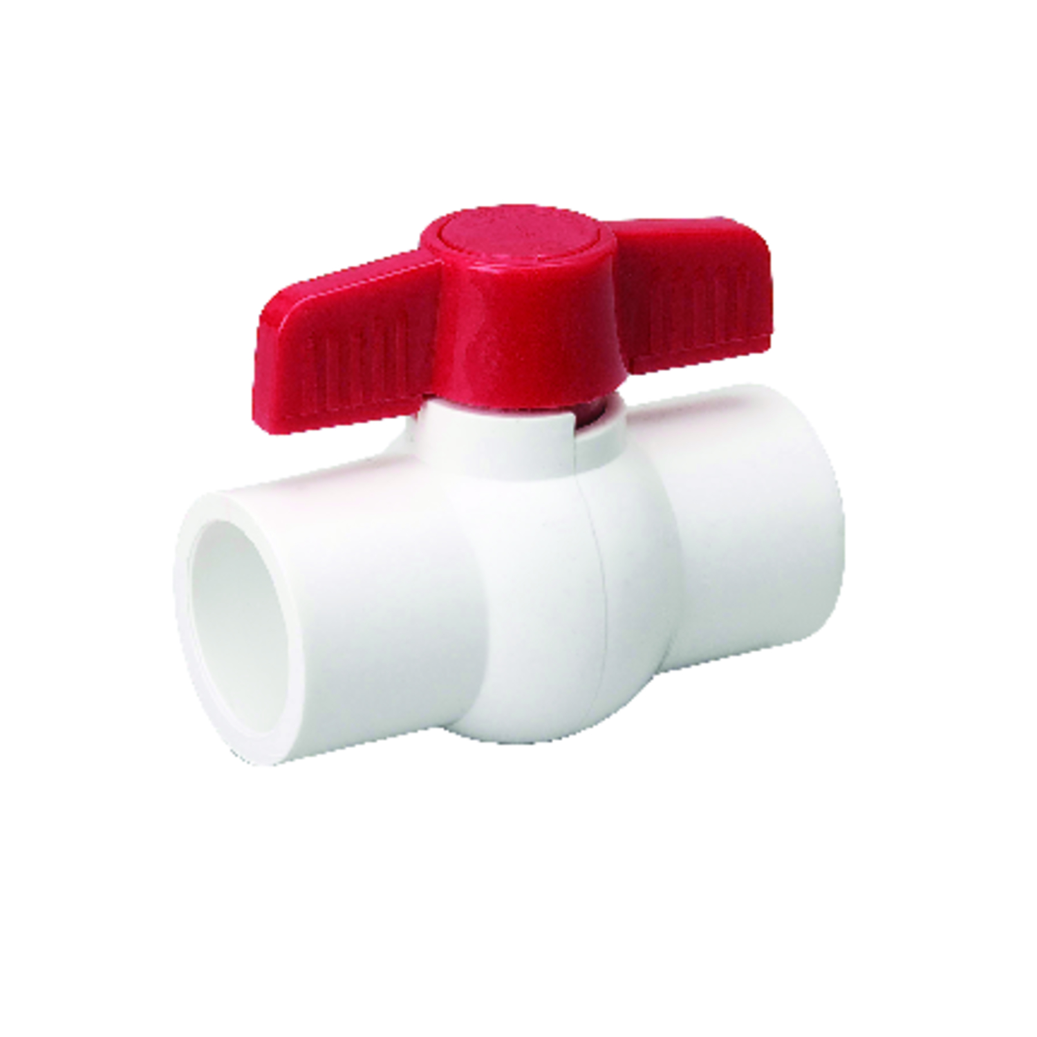 Mueller  Ball Valve  1-1/4 in. Dia. x slip   x 1-1/4 in. Dia. slip  PVC  Ball
