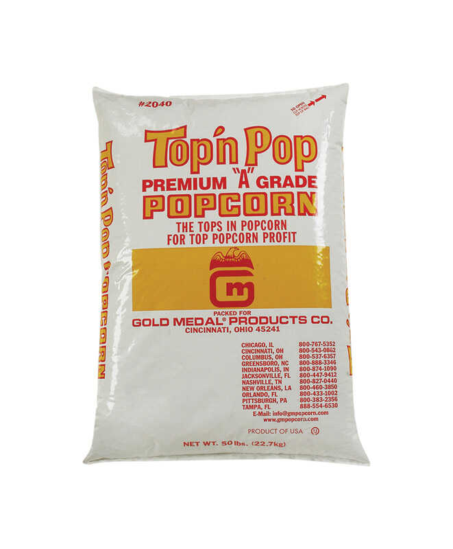 Gold Medal  Top N Pop  Popcorn  50 lb. Bagged