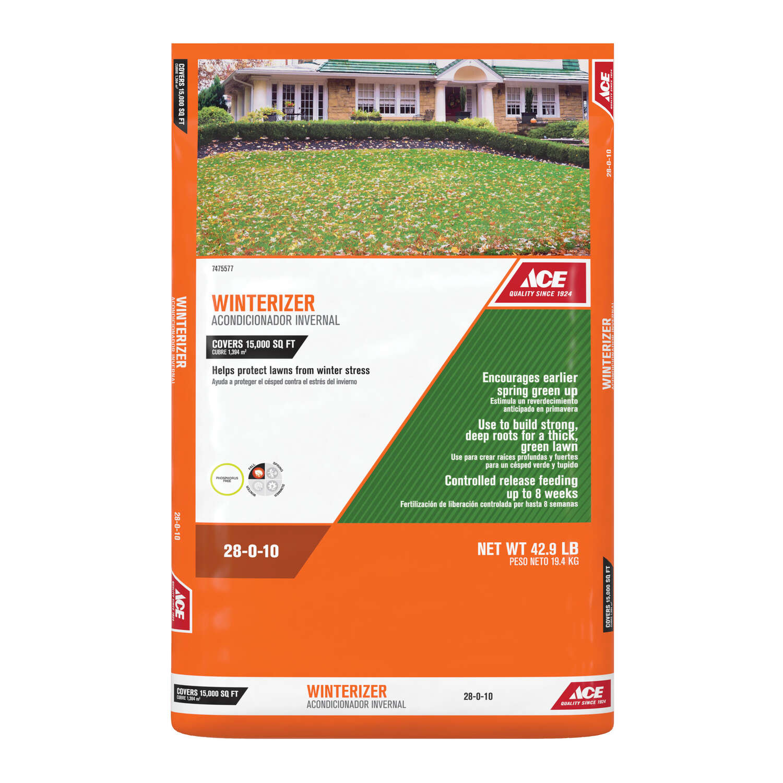 Ace 28-0-10 All-Purpose Winterizer for All Grasses
