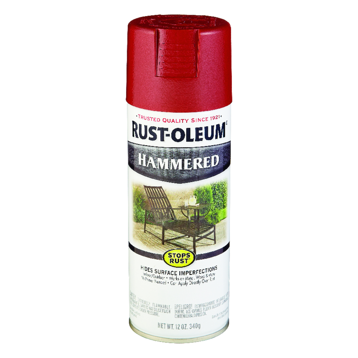 Rust-Oleum  Stops Rust  Gloss  Bright Red  12 oz. Spray Paint
