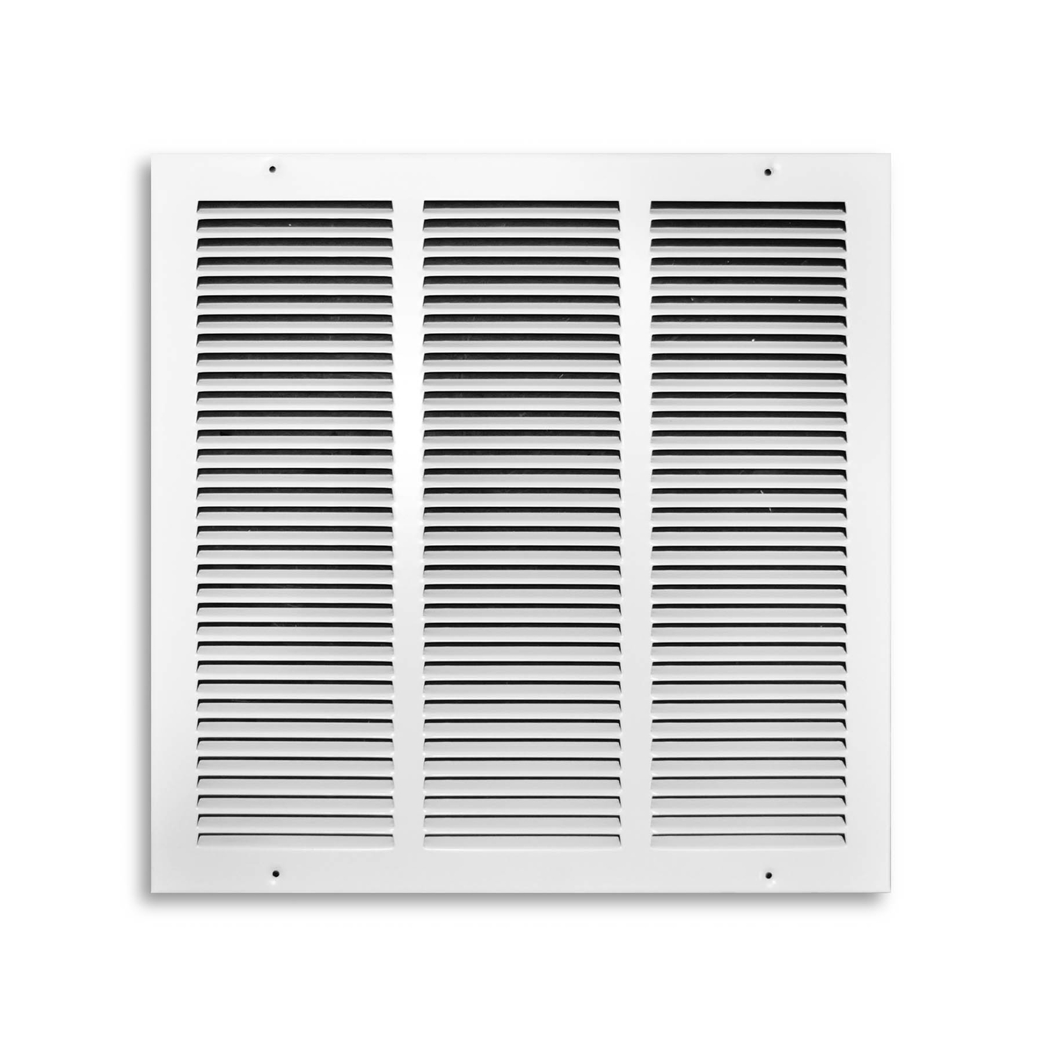 Tru Aire  16 in. H x 1/4 in. D White  Steel  1-Way  Return Air Grille